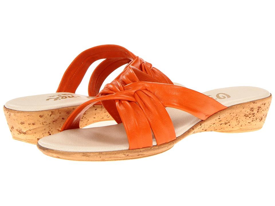 Onex Sail (Orange) Wedge Shoes
