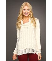 Christin Michaels - Ashley Cowlneck Sweater