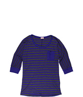 Splendid Littles - 3/4 Sleeve Striped Top (Big Kids)