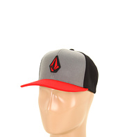 Cheap Volcom Stone Colour Snap Back Drip Red