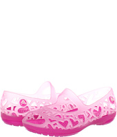 Crocs Kids - Adrina Hearts Flat (Toddler/Little Kid)
