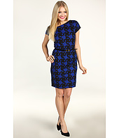 Ellen Tracy - S/S Houndstooth Dress