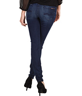 7 For All Mankind - The Skinny w/ Squiggle in Slim Illusion Cerulean Dusk