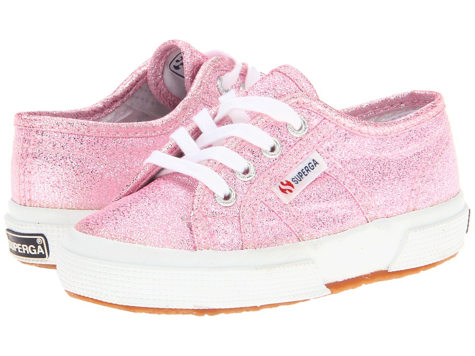 Superga Kids - 2750 LAMEJ (Toddler/Little Kid) (Pink) Girls Shoes