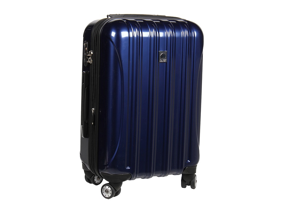 Delsey - Helium Aero - 21 Carry On Expandable Spinner Trolley (Cobalt Blue) Carry on Luggage