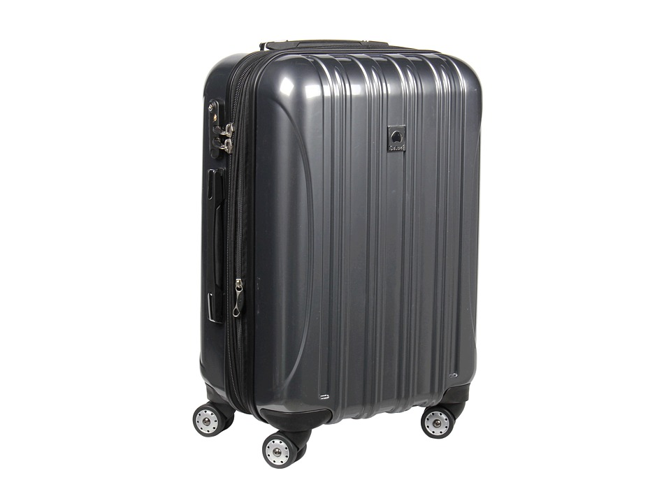 Delsey - Helium Aero - 21 Carry On Expandable Spinner Trolley (Titanium) Carry on Luggage