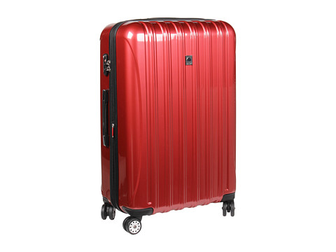 delsey helium aero 29 expandable spinner trolley brick red free shipping both ways. Black Bedroom Furniture Sets. Home Design Ideas