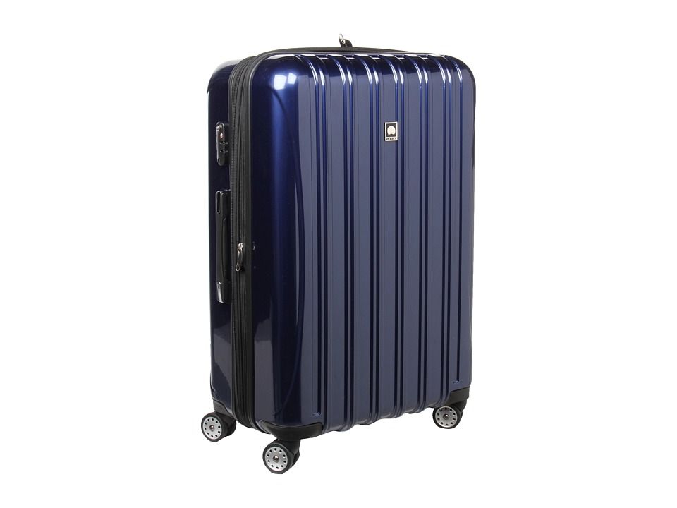 Delsey Helium Aero 29 Expandable Spinner Trolley Cobalt Blue Pullman Luggage