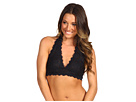Galloon Lace Halter Bra Top
