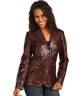 Scully - Ladies Gretchen Studded Trim Vintage Leather