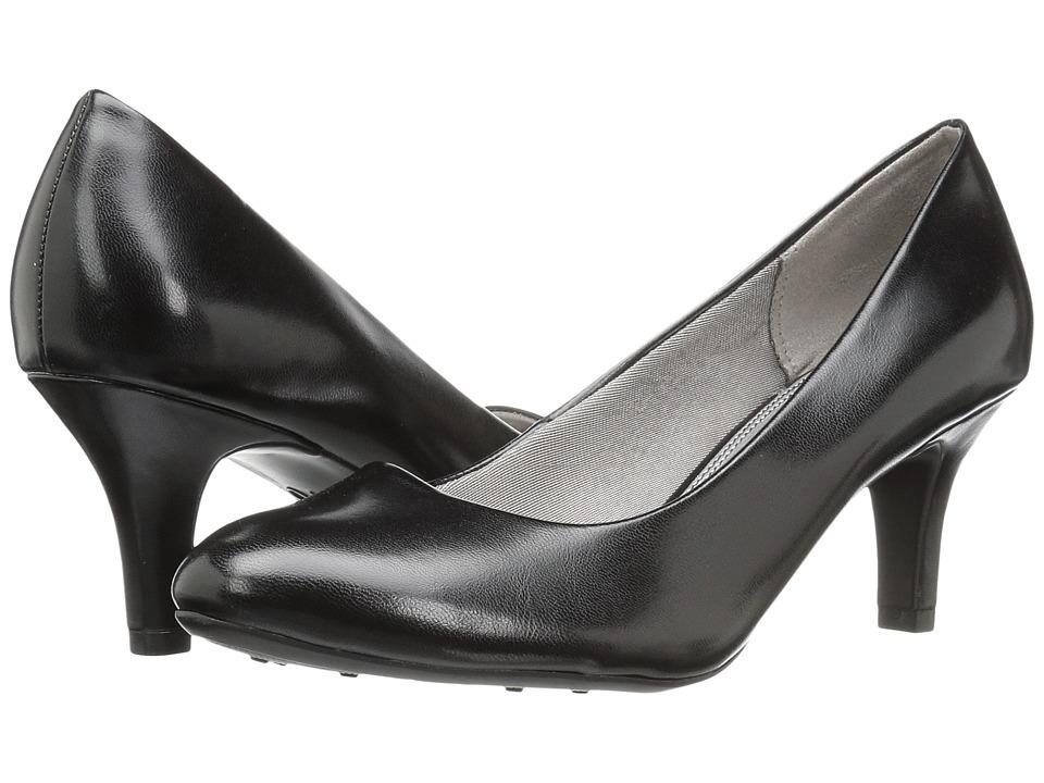 LifeStride - Parigi (Black Kid) High Heels, wide width