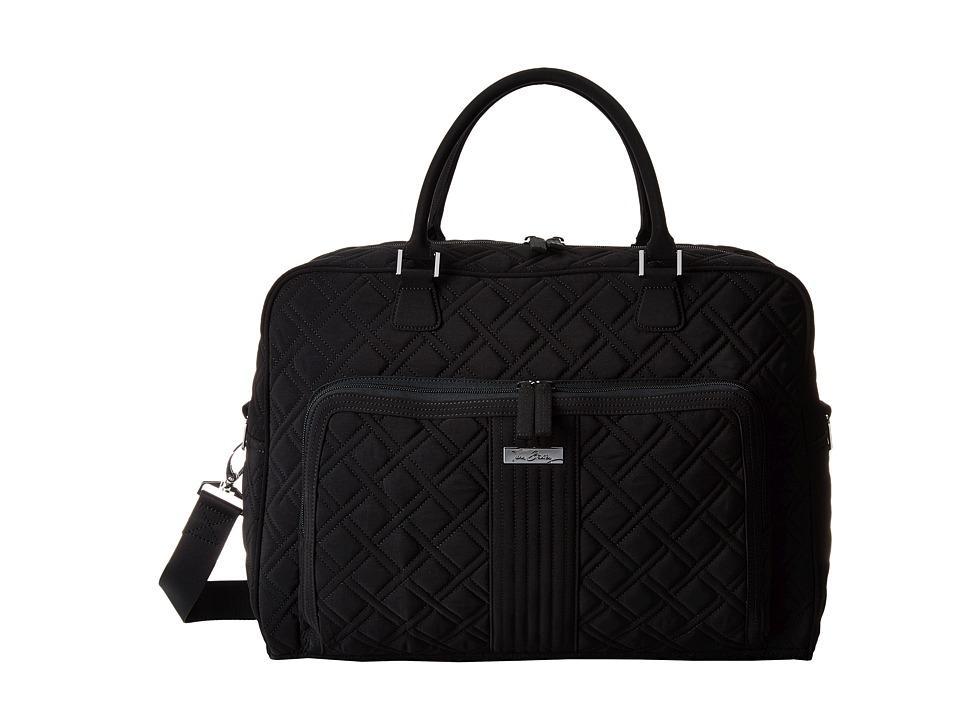 Vera Bradley Luggage - Weekender (Black) Duffel Bags