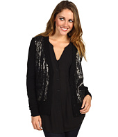 BCBGMAXAZRIA - Sequin Front Cardigan Sweater
