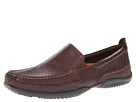 Hush Puppies - Accel Slip-On MT (Dark Brown Leather) - Footwear