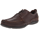 Hush Puppies - Accel Oxford MT (Dark Brown Leather) - Footwear