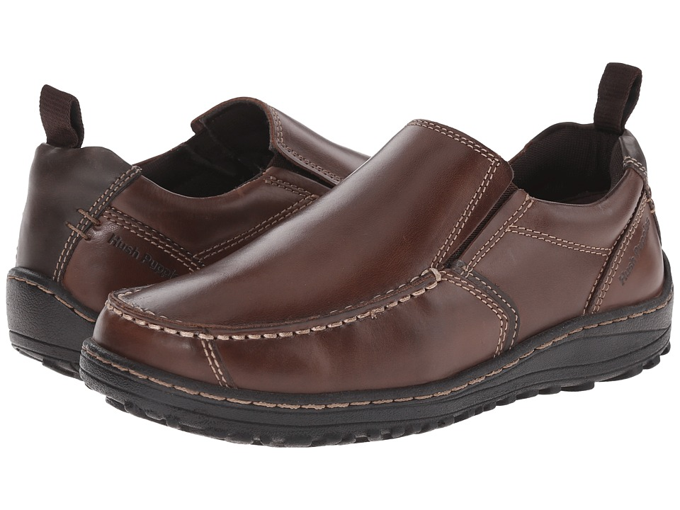 Hush Puppies - Belfast Slip On MT (Brown Leather) Men