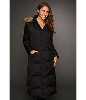 Hilary Radley Studio - Long Down w/ Faux Fur Trim Hood