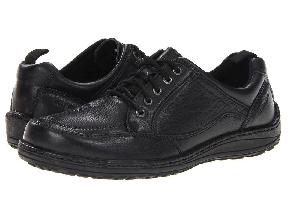 Hush Puppies - Belfast Oxford MT (Black Leather) Men