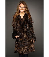 Hilary Radley Studio - Faux Fur Coat