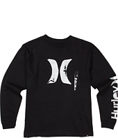 Hurley Kids - Scapher L/S Tee (Big Kids)