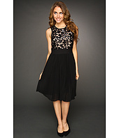 Eliza J - Sequin Lace Bodice Dress