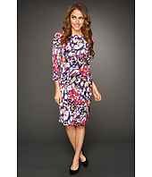 Eliza J - 3/4 Sleeve Printed Dress