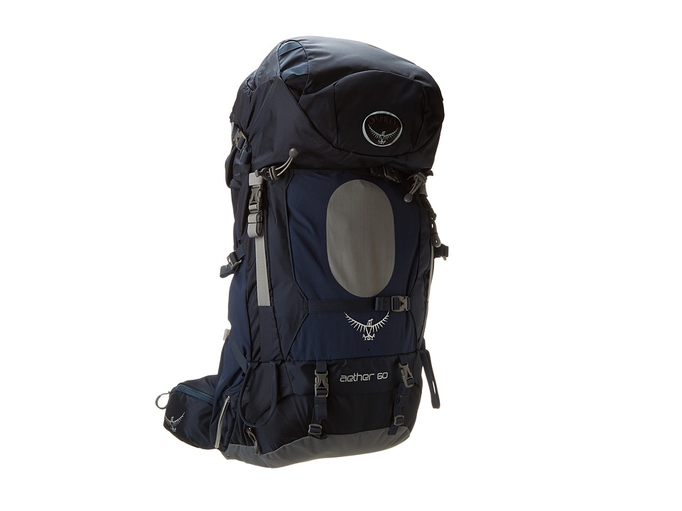 Osprey Aether 60 Midnight Blue Backpack Bags