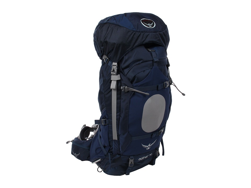 Osprey Aether 70 Pack Midnight Blue Backpack Bags