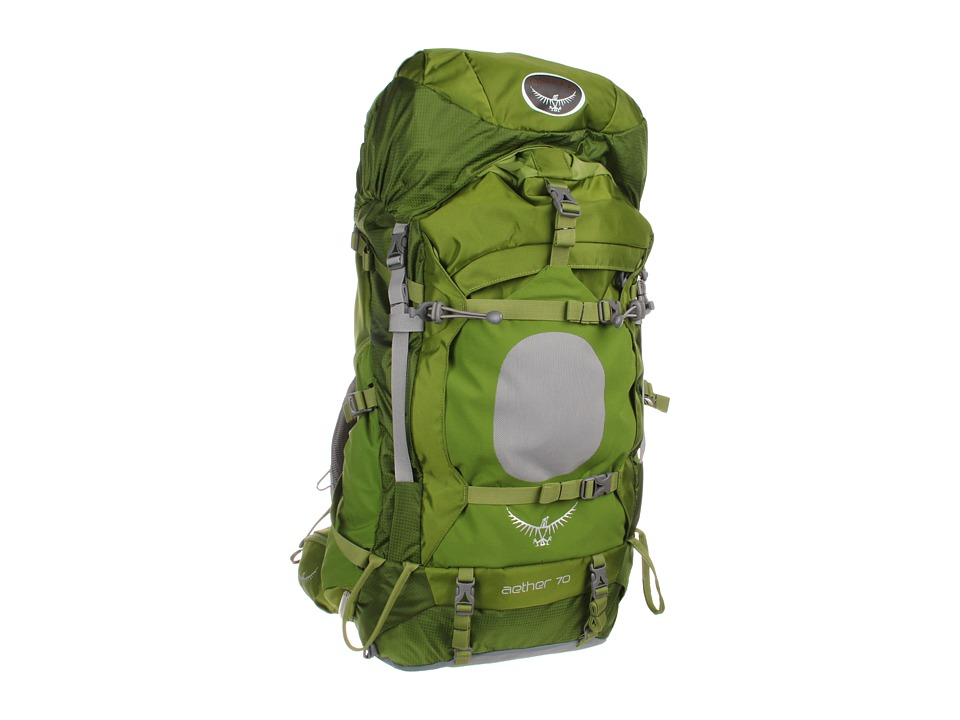 Osprey Aether 70 Pack Bonsai Green Backpack Bags