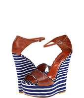 Missoni - Leather/Fabric Combo High Wedge