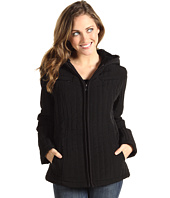 Esprit - Hooded Zip Front Mini Jacket