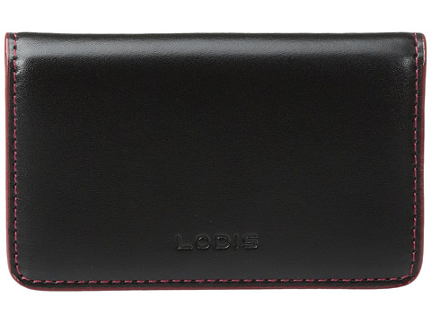 Lodis Accessories Audrey Mini Card Case - Black