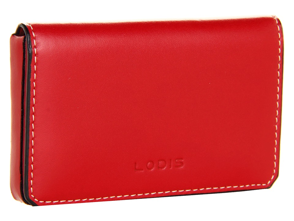 Lodis Accessories - Audrey Mini Card Case (Red) Credit card Wallet