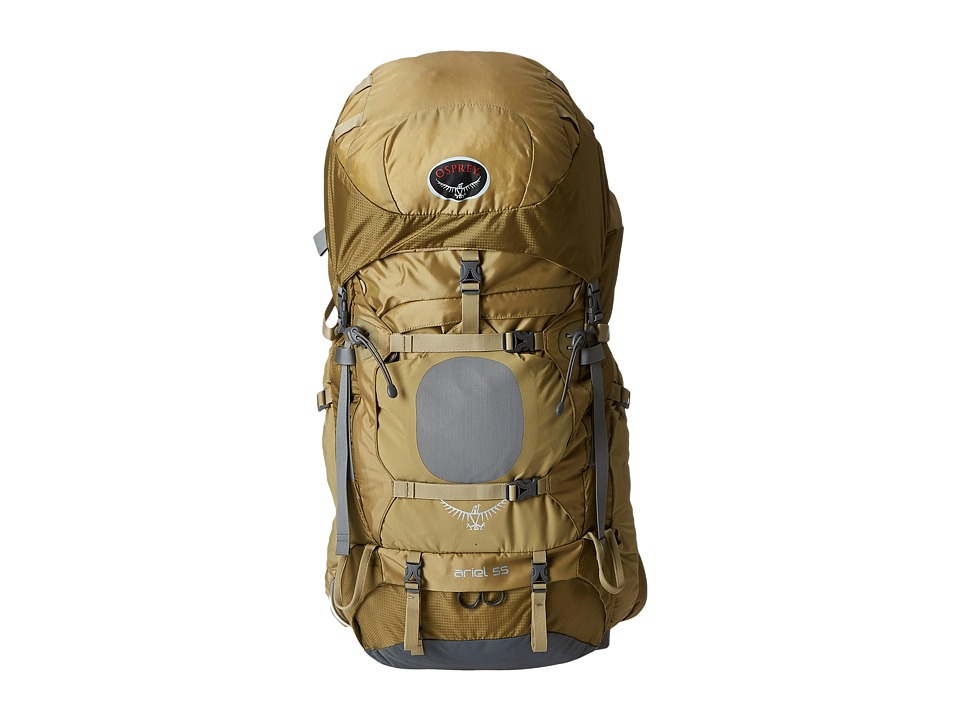 Osprey Ariel 55 Summer Wheat Brown Backpack Bags
