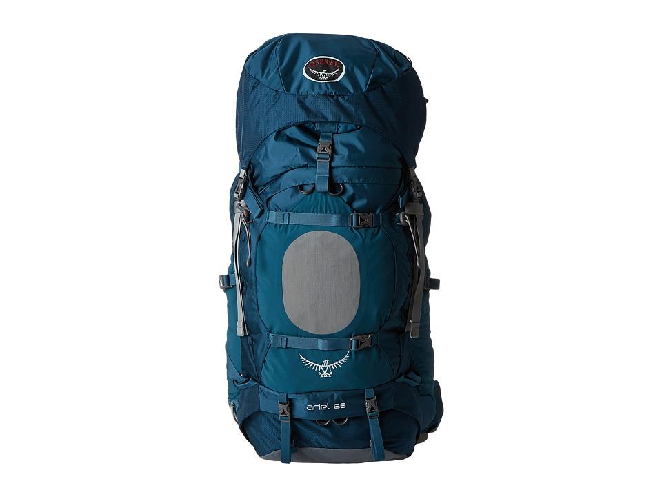 Osprey Ariel 65 Deep Sea Blue Backpack Bags
