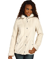 Esprit - Basic Snap Front Hooded Jacket
