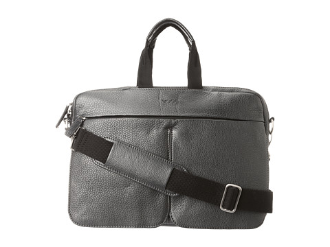 ECCO - Anaheim Small Laptop Bag (Black) - Bags and Luggage