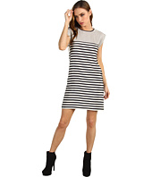 Tibi - Claire Stripe on Silk CDC Easy Dress