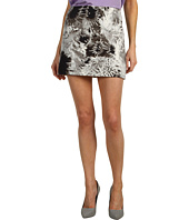 Tibi - Athena on Silk Linen Mini Skirt