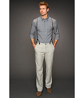 John Varvatos - Suspender Split Back Trouser