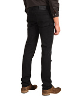 John Varvatos - Slim Low Rise Black Wash Jean
