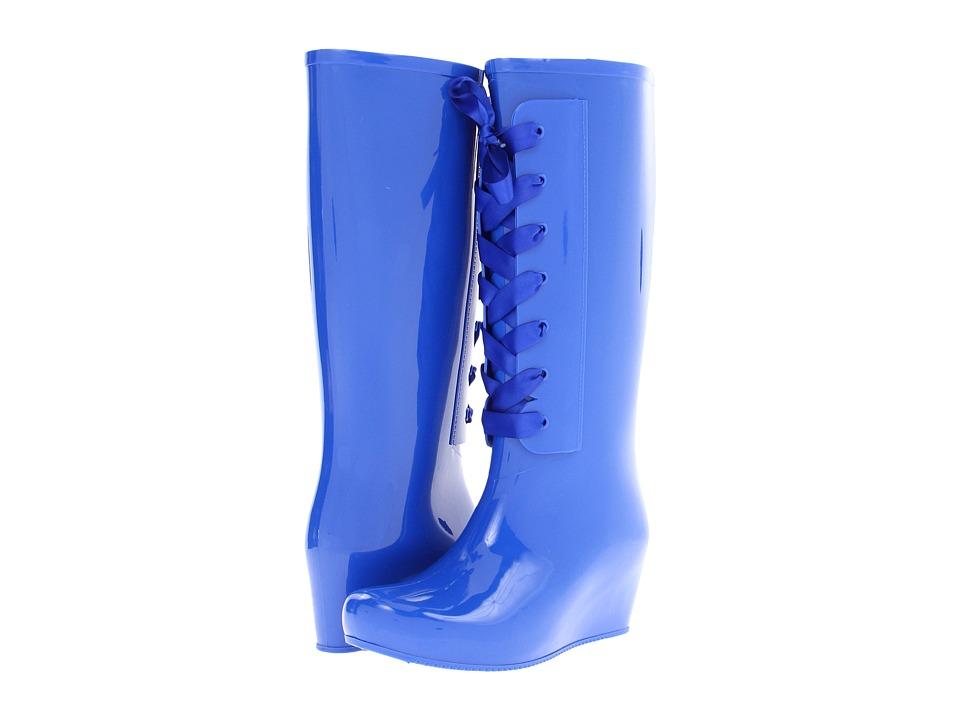 Dirty Laundry Rain Check (Cobalt Blue) Women's Rain Boots
