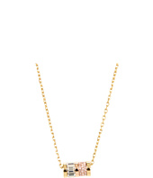 Michael Kors - Brilliance Pave Barrel Pendant Necklace
