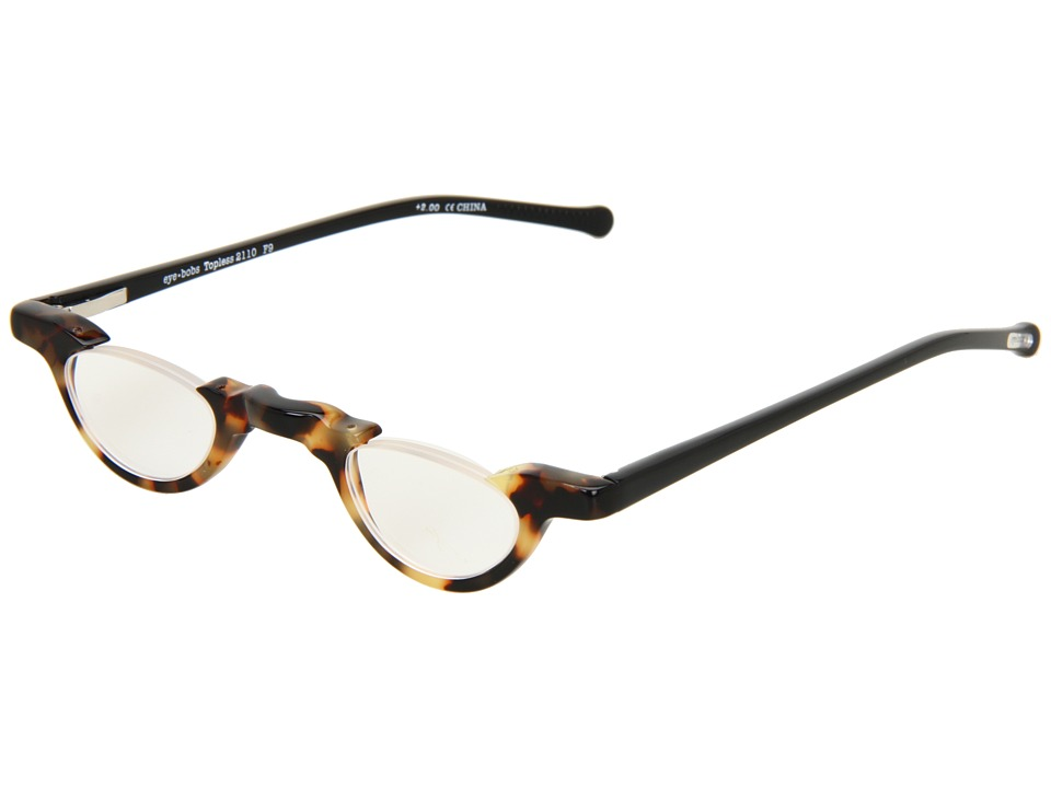 eyebobs - Topless Readers (Tortoise/Black) Reading Glasses Sunglasses