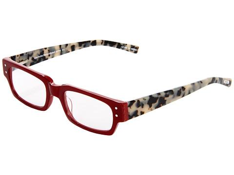 eyebobs Peckerhead Readers - Red/Black/White Tortoise