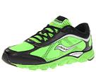 Saucony Kids - Virrata (Youth) (Slime/Black/Silver) - Footwear