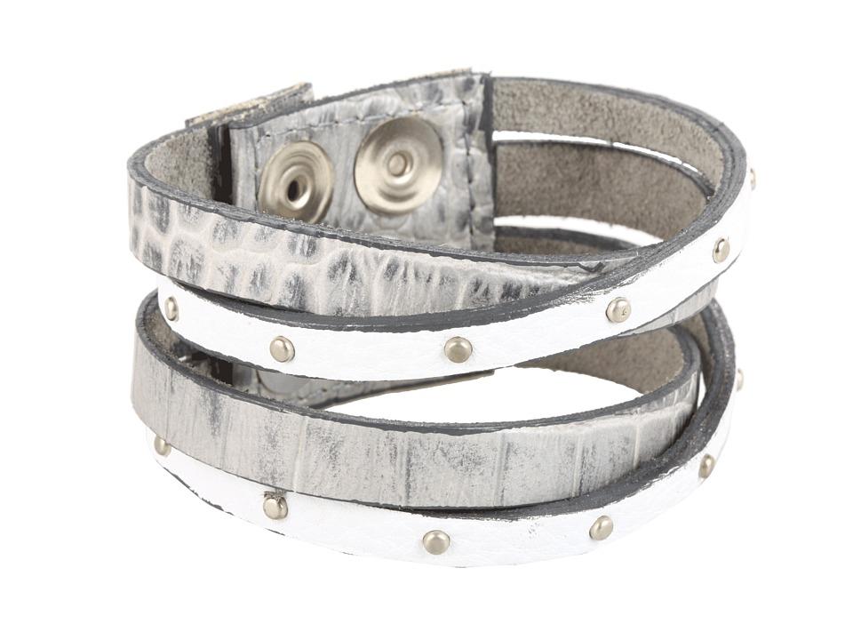 Leatherock - B453 (Silver) Bracelet