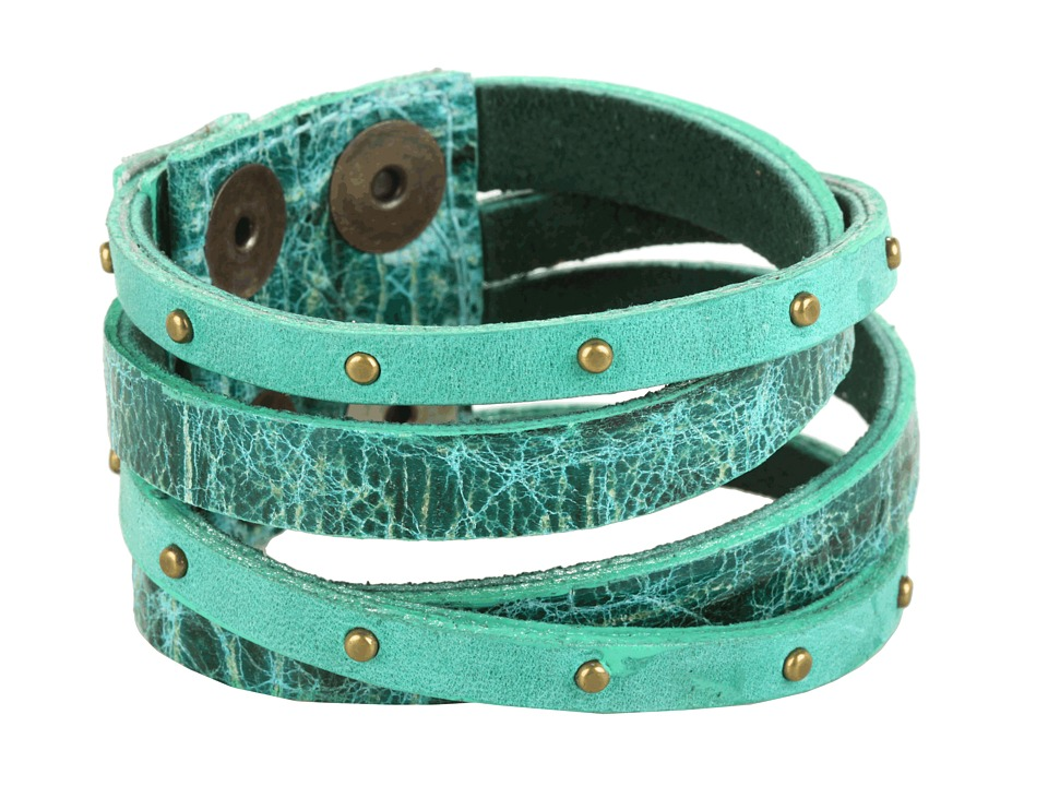 Leatherock B453 (Jade) Bracelet
