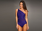 Miraclesuit - Jena Slimming One-Piece Swimsuit (Eggplant) - Apparel<br />