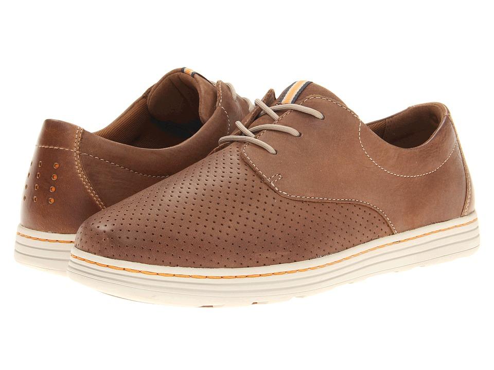 Dunham Camden Tan Mens Plain Toe Shoes
